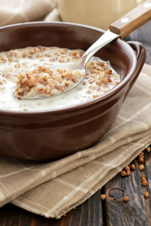 Slow Cooker Breakfast Porridge on http://www.theculinarylife.com