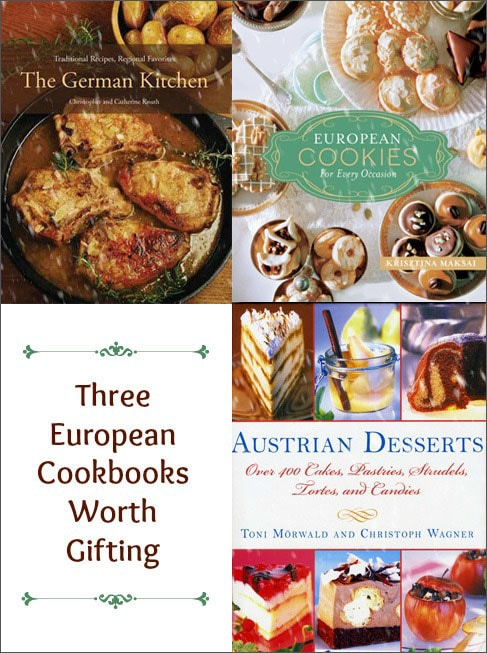 A Little Bit of Europe for Christmas: Three Cookbooks Worth Gifting on http://www.theculinarylife.com