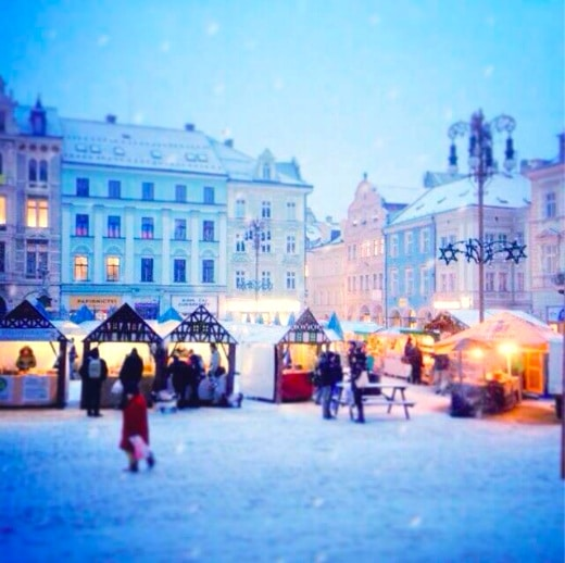 Christmas in Liberec on http://www.theculinarylife.com