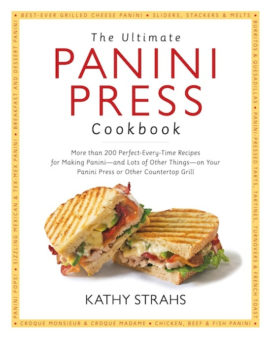 Honey Walnut-Crusted Aged Cheddar Panini - The Ultimate Panini Press Cookbook on http://www.theculinarylife.com