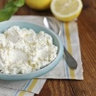 Homemade Meyer Lemon Ricotta Cheese from One Hour Cheese How to Make ...