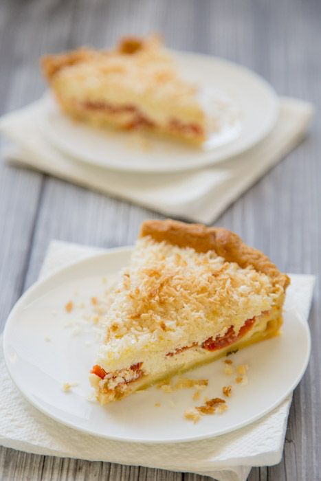 Buttermilk Tomato Pie on http://www.theculinarylife.com