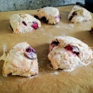 A Miraculously Simple Cherry Coconut Vegan Scones Recipe and My Jiffy Lube Assault