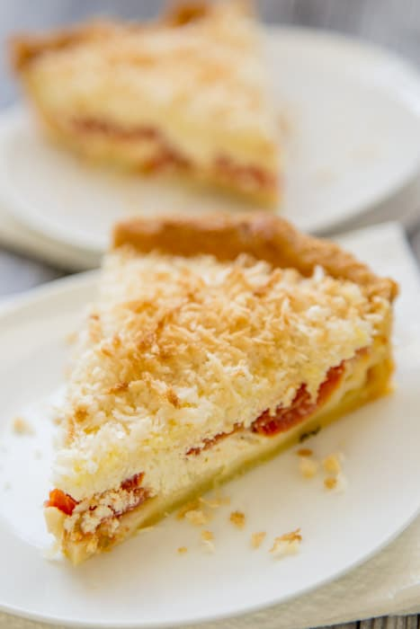 ... about a buttermilk tomato pie recipe with homemade cottage cheese