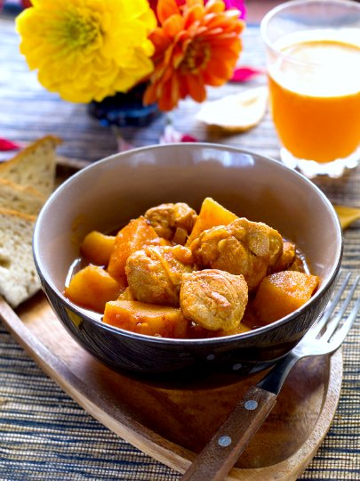 Quick and Easy African Pork Peanut Stew, by Pork Passion Pursuit Winner Devon Delaney (sponsored post)