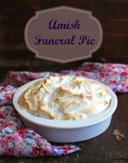 Death Warmed Over and Amish Funeral Pie, by Lisa Rogak on http://www.theculinarylife.com