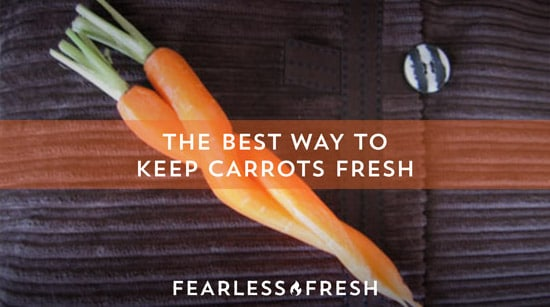 The Best Way to Keep Carrots Fresh