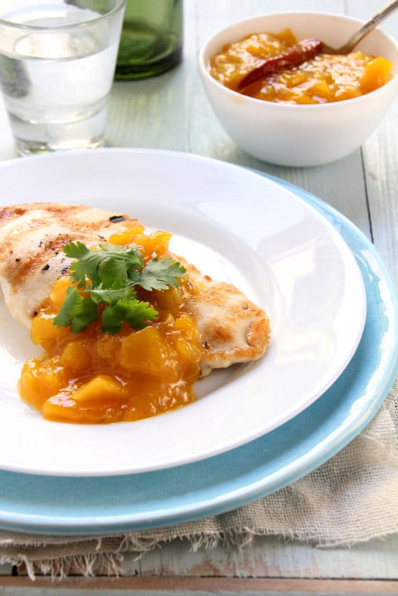 15 Minute Orange Thyme Honey Chicken on http://www.theculinarylife.com