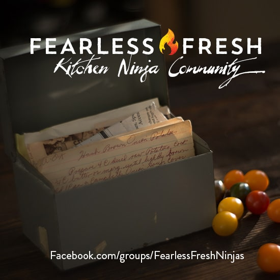 The Fearless Fresh Ninja Community on https://www.theculinarylife.com