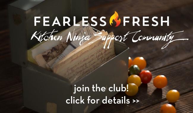 Fearless Fresh Ninja Support Community on https://www.fearlessfresh.com