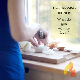 Let's be honest: What stressed you out about dinner? I really want to know. http://eatre.al/y0ask