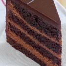 The Dark Knight Cake (Triple Chocolate Layer Cake)