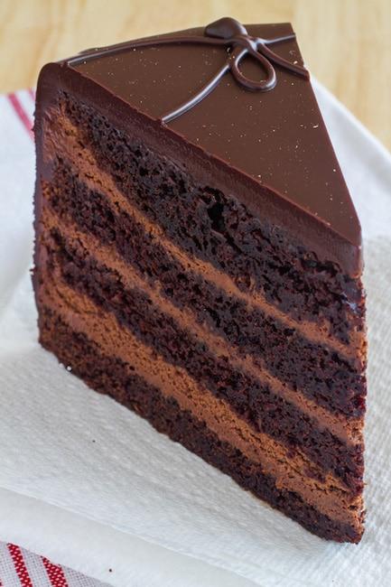 Hershey Triple Chocolate Cake Recipe