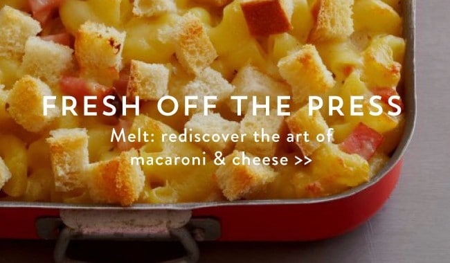 Melt: the Art of Macaroni and Cheese on https://www.theculinarylife.com