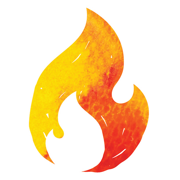 Fearless Fresh Flame Logo on https://www.theculinarylife.com