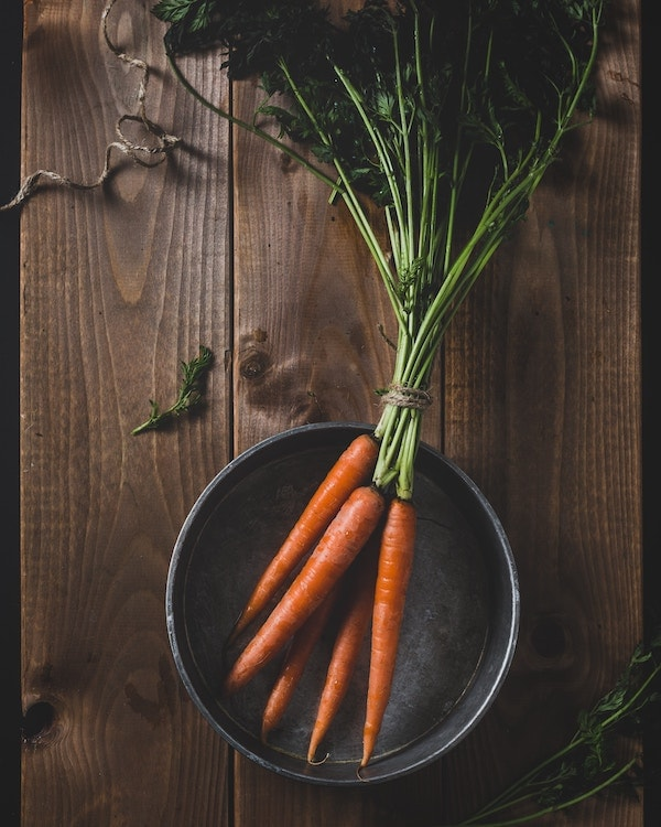 Carrots in Bowl