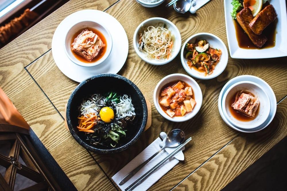 Korean Dinner Table