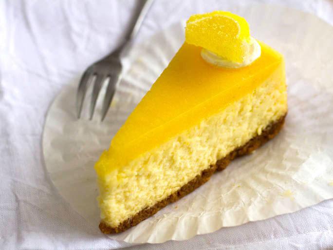 Meyer Lemon Cheesecake with Mascarpone
