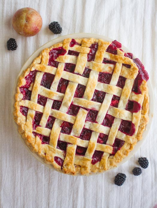 Easy Pie Crust from Scratch on https://www.theculinarylife.com