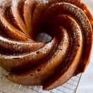 Cinnamon Apple Cake Recipe with Sour Cream