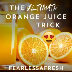 Flavor Secrets: Orange Blossom Water = the Ultimate Orange Juice