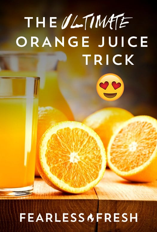 The Ultimate Orange Juice with Orange Blossom Water Recipe on https://fearlessfresh.com