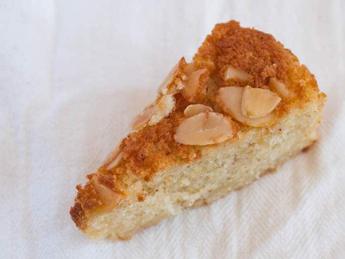 Easy Almond Cake With Marzipan Amp Ginger Fearless Fresh