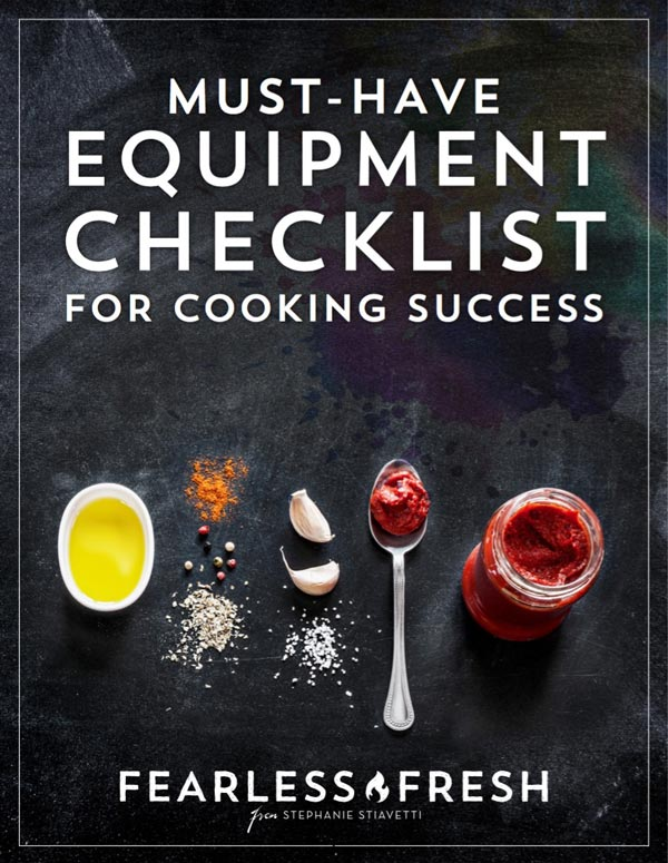 Must-Have Equipment Checklist on https://fearlessfresh.com