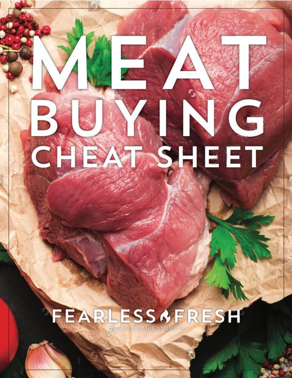 Meat Buying Cheat Sheet on https://fearlessfresh.com