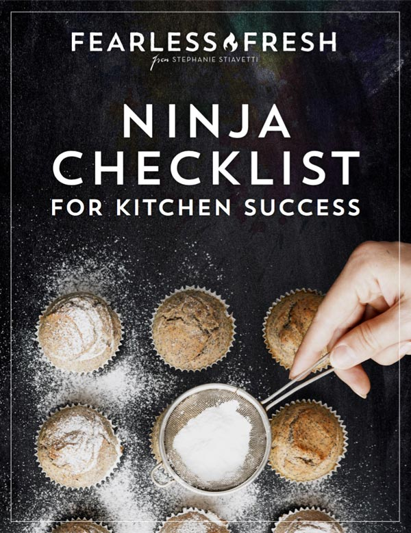 Ninja Checklist for Kitchen Success on https://fearlessfresh.com