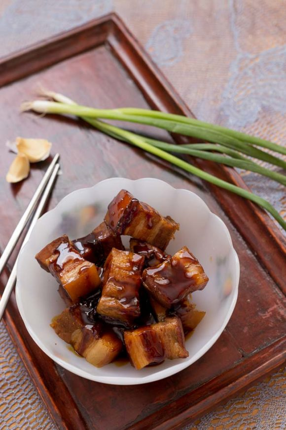 Red-Cooked Pork Belly Phoenix Claws and Jade Trees