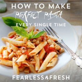 How to make perfect pasta every time