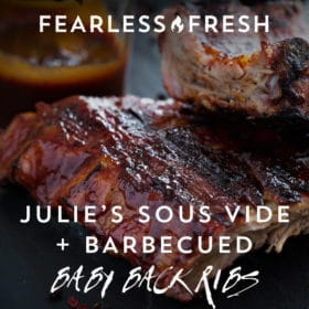 Sous Vide Ribs: Julie's Barbecue Baby Back Ribs