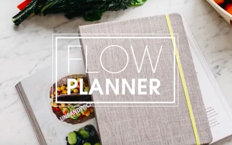 The Flow Planner by Mia Moran