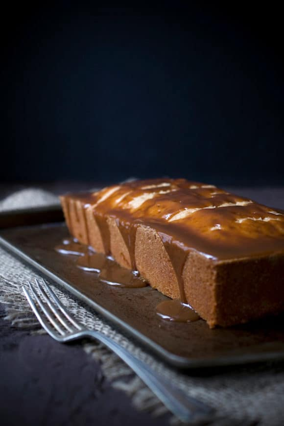 Caramel Apple Pound Cake from The Gourmet Kitchen