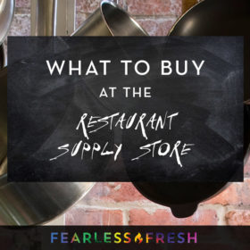 What to Buy at a Restaurant Supply Store