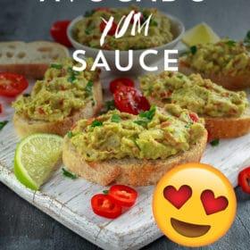 Flavor Bomb Avocado Sauce Recipe