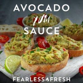 Mexican Flavor Bomb: Avocado YUM Sauce Recipe