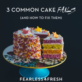 Cake Fails to Avoid: Three Common Cake-Baking Fails