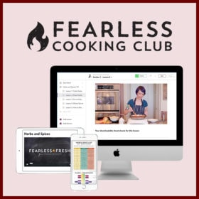 Fearless Cooking Club Mockup