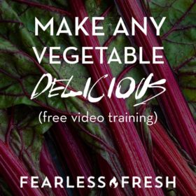 How to Make Vegetables Delicious