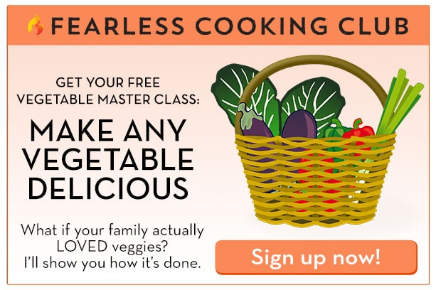 Free vegetable cooking class on Fearless Fresh